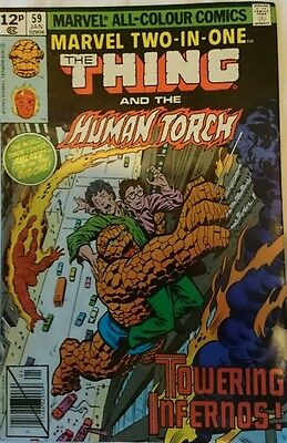 Marvel Two In One #59. The Thing And Human Torch