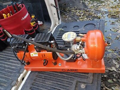C-AIRE fire spinkler dry system air compressor