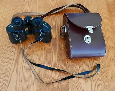 NOCTOVIST Mk II 8X30 fully coated binoculars WITH LEATHER CASE
