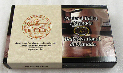 2001 National Ballet of Canada Proof Set With Original Box -ANA Special Edition