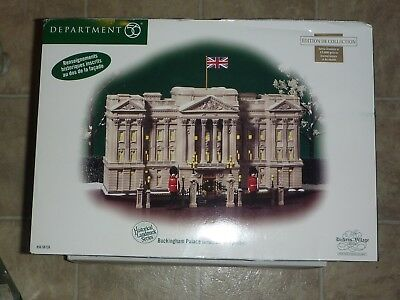MIB Dept. 56 Dickens Village Historical Landmark Series - Buchingham Palace