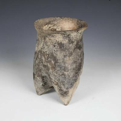 Chinese Neolithic Li Or Tripod Vessel Xiajiadian Culture China 2300 - 1600 Bc