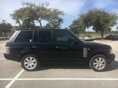 2006 Land Rover Range Rover HSE 2006 Range Rover, HSE, Black/Tan, LUX, Rear Entertainment, Adult Owned