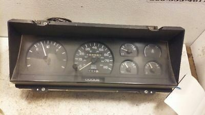 Speedometer Cluster Without Tachometer 85 MPH Fits 89-93 DAKOTA 90273