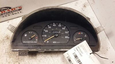 Speedometer US Cluster Without Tachometer 2 Door Fits 96-00 METRO 404645