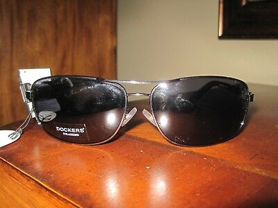 4796ffa9ef0 NWT DOCKERS MENS Sunglasses Black Gray