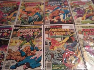 Fantastic Four Bronze Age Lot 201 202 203 204 205 206 207 208 209 (21 books)