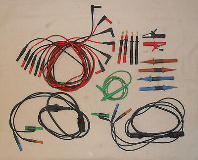 Kyoritsu Collection Of Iec And Probe Test Leads Free Uk Postage
