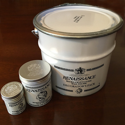 Renaissance Micro-Crystalline Wax Polish - 65ml, 200ml or 3 Litre Cans