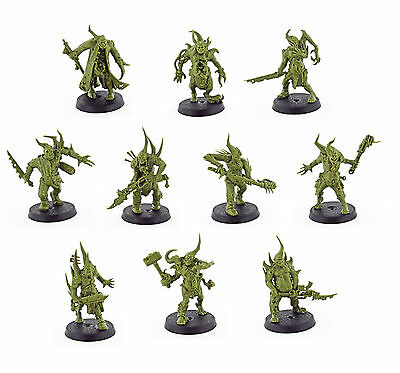 10x Poxwalkers | Death Guard | Chaos | Know No Fear | Warhammer 40k
