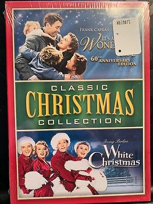 IT'S A WONDERFUL LIFE & WHITE CHRISTMAS DVD Box Set Classic Christmas Collection