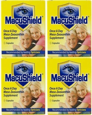 MacuShield Eye Supplement 360 DAY SUPPLY 1 YEAR MacuHealth for macular health