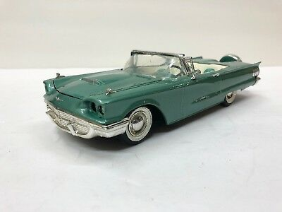 Vintage AMT 3 in 1 1960 Ford T-Bird Convertible Built Up Model Kit
