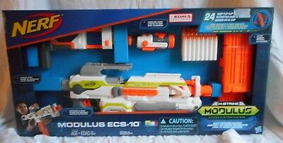 Nerf N-Strike Modulus Ecs-10 Blaster - New In Box