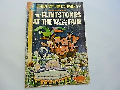 Vintage Flintstones At The New York World's Fair Souvenir Comic Book (1964-65)