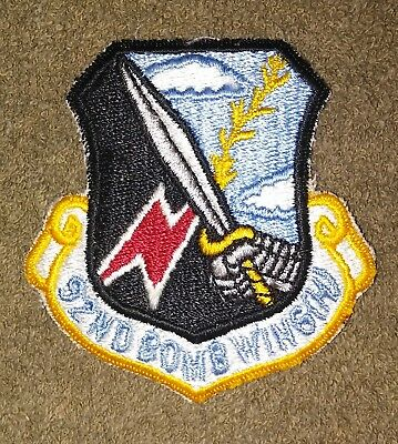 US Air Force 92nd Bomb Wing Color Squadron Patch