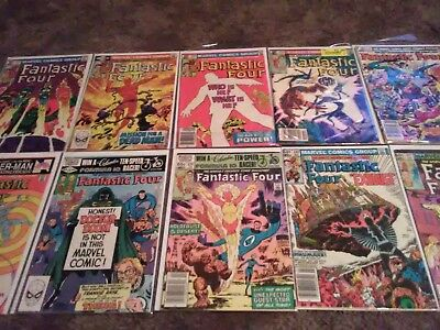 Fantastic Four complete John Byrne run lot 232 - 283 (62 books) 1961 Bronze Age