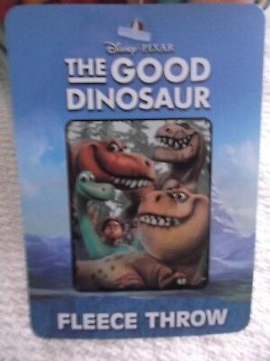 "Disney Pixar The Good Dinosaur Fleece Throw - 40"" X 50"" -  New"