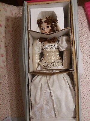 "Marie Osmond 30"" Doll Somewhere in Time Isobella Brand New In Box with COA"