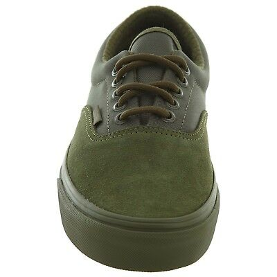 8f0dca014e Vans ERA (MILITARY MONO) Winter Moss GREEN SUEDE CANVAS MEN SKATE SHOES