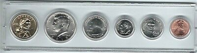 2018D US Mint, Six Coin Set, NA $1, 1/2, 1/4, DIME, NICK, CENT,  In Nice Holder