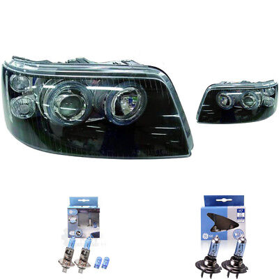 Set Design Scheinwerfer VW T5 Multivan 03-09/09 klar/schwarz Angel Eyes 1366263