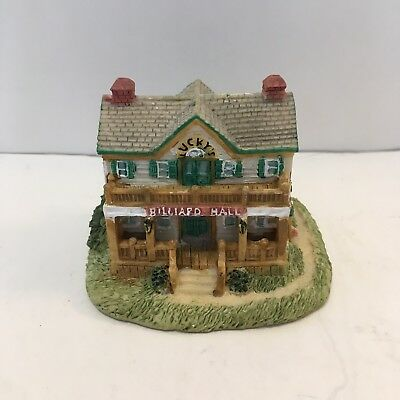 Liberty Falls Americana Collection - AH94 - Lucky's Billiard Hall - 1995