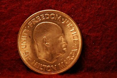 Sierra Leone, 1964 Cent, KM17, Red UNC, NR                                   129
