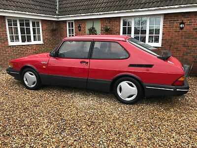 1992 Saab 900 2.0 T16S Aero 16v Turbo S Talladega Red Classic c900 Retro Project