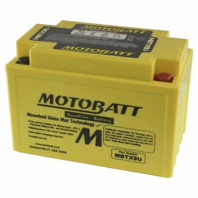 Motobatt Battery For Honda CBR600 600cc 87-00