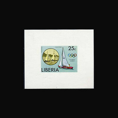 Liberia, Sc #739, Imperf, MNH, 1976, Olympics, Yachting, Montreal, 1118200