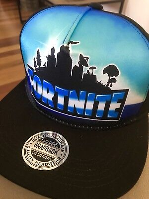 New Design Fortnite Hat Flat Cap Rare New Release