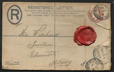 1906          Registered Cover England To Ireland