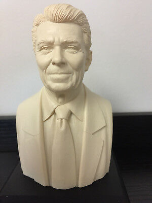 Ronald Reagan Bust Statue Figurine Historical Sculpture  - GIFT BOXED
