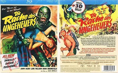 Blu-Ray REVENGE OF THE CREATURE John Agar Lori Nelson Jack Arnold Region B/2 NEW