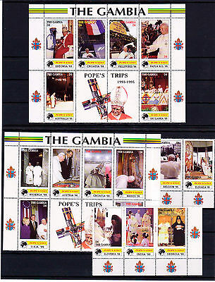 Gambia Papst Johannes Paul II Pope´s visits