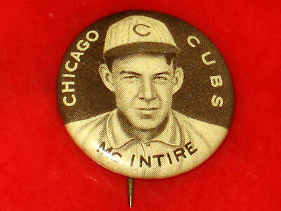 Vintage 1910 Chicago Cubs, Sweet Caporal Cigarettes Pin Pinback Button, Badge