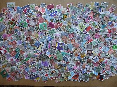 Good Mix, Collection  1000 Stamps Worldwide Off Paper