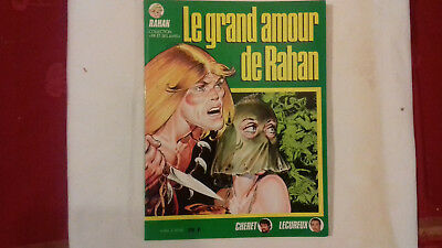 RAHAN n°8 (collection pif et ses amis) le grand amour de rahan 1986  (fin R10)