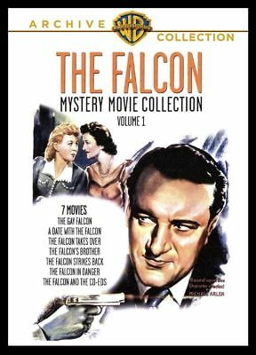 The Falcon Mystery Movie Collection George Sanders UK Region 2 compatible DVD-R