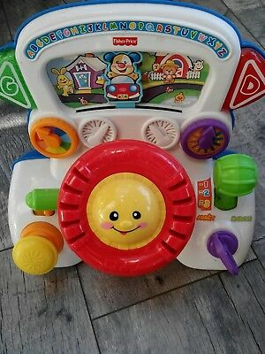 volant interactif Fisher Price