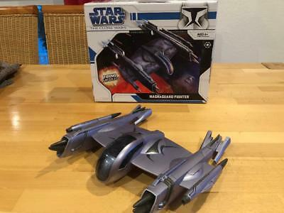 RAR!!!  Star Wars Clone Wars  Magnaguard Fighter   HASBRO OVP