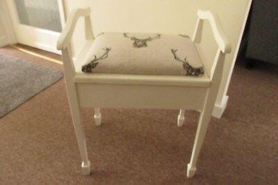 Piano Stall, Shabby Chic, Stags Head  Material