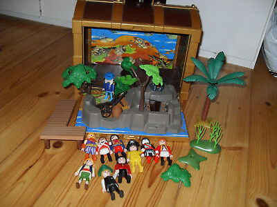 Playmobil Piraten Set 4432 Piraten-Schatztruhe Mitnehmkoffer mit Figuren