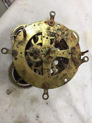 Antique Seth Thomas Clock Movement