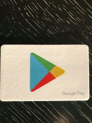 $500 Google Play Store Gift Card - New