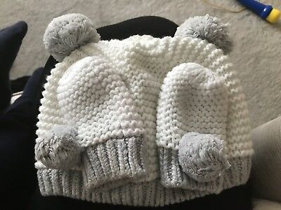 The Little White Company Hat And Mitts