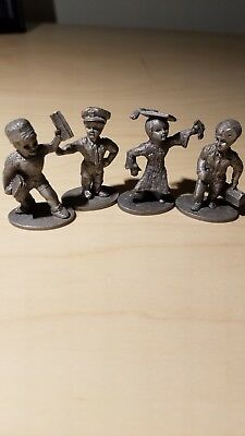 VINTAGE SPOONTIQUES PEWTER Lot of 3 Figurines Boxer, French