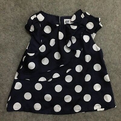 H&M Spotty Blouse 18-24months
