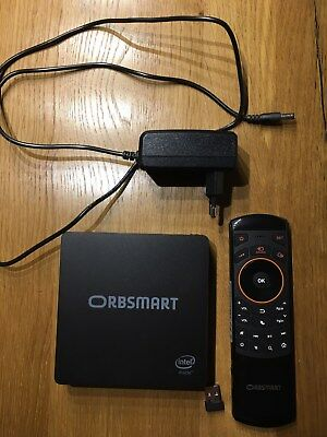 Orbsmart AW-06 Plus Window 10 Mini PC + Orbsmart AM-1 kabellose Fernbedienung
